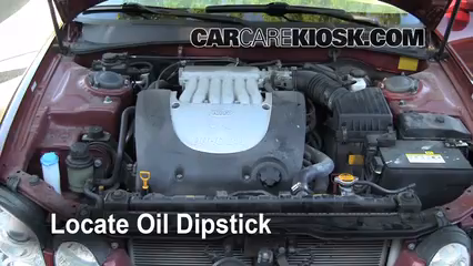 2004 Kia Optima EX 2.7L V6 Fluid Leaks Oil (fix leaks)